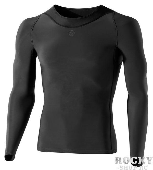Компрессионная футболка Skins ry400, серая SkinsФутболки<br>Восстанавливающая рубашка SKINS B43039005 RY400 TOP LONG SLEEVEПосле напряженных тренировок вашему организму необходимо восстановиться. Революционные исследования австралийского бренда SKINS доказали, что уровень компрессии на мышцы в момент активных действий и в момент покоя является различным. Учитывая этот факт, команда SKINS разработала специальную восстановительную серию RY400. Специальный уровень компрессии, основанный на научных исследованиях, улучшает кровообращение, доставляя свежий кислород к уставшим мышцам и помогая им восстановиться. Использование серии RY400 заметно уменьшает содержание молочной кислоты в мышцах после интенсивных занятий спортом и сокращает время мышечного восстановления. Серия RY400 скроена и пошита с использованием революционной технологии 400Fit и 3-х функциональных тканей, включая такие, как Skins Warp knit для контроля оптимальной компрессии и долговечности и ткань Memory MX, которая позволяет двигаться телу естественным образом. 400-я серия более плотно прилегает и лучше учитывает форму тела. При разработке этой серии инженеры Skins использовали данные 400 точек на теле человека. Технология Dynamic Gradient Compression обеспечивает разный уровень компрессии для разных групп мышц. Более крупные мышцы получают больше поддержки, мелкие - меньше, кровообращение при этом значительно улучшается. Ношение после тренировки помогает уменьшить время естественного процесса восстановления организма. Используйте восстанавливающую рубашку RY400 сразу же после тренировок, на протяжении 3-х часов как минимум, и вы забудете про ледяные ванны и дорогостоящий массаж. RY400 можно использовать даже во время сна, чтобы ускорить естественный процесс восстановления организма. Технологии:•UV protection 50+. УФ защита 50+. Родина бренда - солнечная Австралия, поэтому вся продукция разработана с усиленной защитой от ультрафиолетового излучения&amp;nbsp;(коэффициент UV 50+), благодаря чему не придет