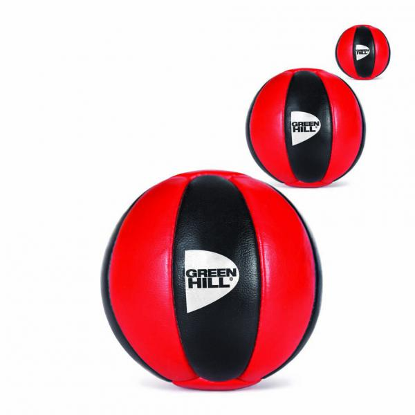 Мяч медицинбол, 5 кг Green HillМедицинболы<br>Мяч – медицинбол из натуральной кожи с наполнителем. <br> Натуральная кожа<br> Плотный наполнитель<br>