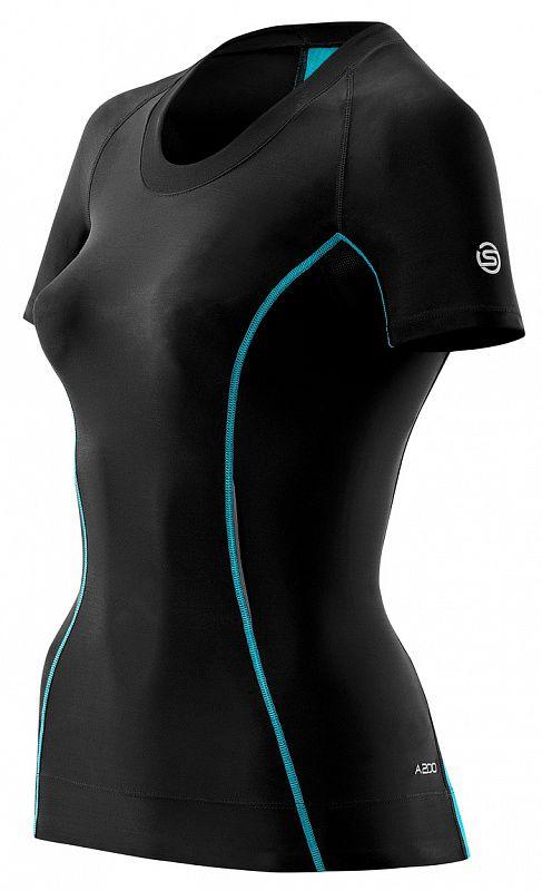Купить Женская компрессионная футболка Skins a200 с коротким рукавом (арт. 12359)