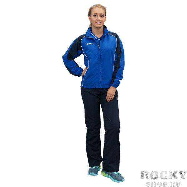 MIKASA MT147 0100 AURORA Костюм спортивный W (ветровка, брюки, футболка) MikasaСпортивные костюмы<br>Спортивный костюм MIKASA MT147 0100 AURORA •Женский спортивный костюм-тройка состоит из брюк, ветровки и футболки. •Костюм изготовлен из полиэстеровой микронити, которая обеспечивает отличную вентиляцию, что немаловажно при активных занятиях спортом, и при этом отлично защищает от ветра. •Ветровка имеет петлю для вешалки под воротником, молнию, сетчатую подкладку внутри, два кармана на уровне пояса, которые застегиваются на молнию. •Футболка имеет v-образный ворот и приталенный фасон. •Брюки имеют сетчатую подкладку, резинку на поясе, молнии снизу каждой штанины и завязки для дополнительного удобства.<br><br>Размер INT: 2XS