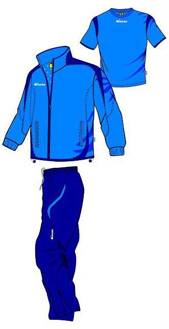 MIKASA MT143 0100 RAYON Костюм спортивный (ветровка, брюки, футболка) MikasaСпортивные костюмы<br>Спортивный костюм MIKASA MT143 0100 RAYON•Мужской спортивный костюм-тройка состоит из брюк, ветровки и футболки. •Костюм изготовлен из полиэстеровой микронити, которая обеспечивает отличную вентиляцию, что немаловажно при активных занятиях спортом, и при этом отлично защищает от ветра. •Ветровка имеет петлю для вешалки под воротником, молнию, сетчатую подкладку внутри, два кармана на уровне пояса, которые застегиваются на молнию. •Футболка имеет v-образный ворот и приталенный фасон. •Брюки имеют сетчатую подкладку, резинку на поясе, молнии снизу каждой штанины и завязки для дополнительного удобства.<br><br>Размер INT: XS