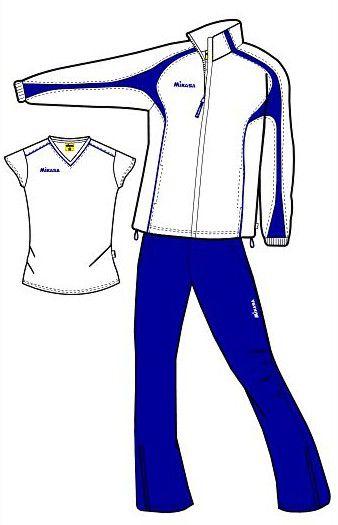 MIKASA MT147 0023 AURORA Костюм спортивный W (ветровка, брюки, футболка) MikasaСпортивные костюмы<br>Спортивный костюм MIKASA MT147 0023 AURORA •Женский спортивный костюм-тройка состоит из брюк, ветровки и футболки. •Костюм изготовлен из полиэстеровой микронити, которая обеспечивает отличную вентиляцию, что немаловажно при активных занятиях спортом, и при этом отлично защищает от ветра. •Ветровка имеет петлю для вешалки под воротником, молнию, сетчатую подкладку внутри, два кармана на уровне пояса, которые застегиваются на молнию. •Футболка имеет v-образный ворот и приталенный фасон. •Брюки имеют сетчатую подкладку, резинку на поясе, молнии снизу каждой штанины и завязки для дополнительного удобства.<br><br>Размер INT: 2XS