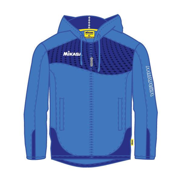 MIKASA MT703 0100 GOMBEI Куртка MikasaКуртки / ветровки<br>Куртка MIKASA MT703 0100 GOMBEI •Легкая мужская куртка на молнии для занятий спортом выполнена на 100% из полиэстера. •Быстросохнущая и хорошо проветриваемая ткань обладает ветро- и влагозащитными свойствами. •Капюшон с регулируемым шнурком защитит от дождя во время занятия спортом на свежем воздухе. •Манжеты на эластичной резинке для надежной фиксации.<br><br>Размер INT: XL