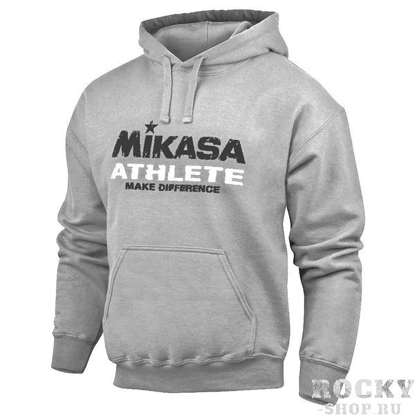 MIKASA MT532 0186 BAKIN Толстовка с капюшоном MikasaТолстовки / Олимпийки<br>Толстовка MIKASA MT532 0186 BAKIN•Стильная мужская толстовка с капюшоном изготовлена из хлопка с добавлением полиэстера.•Толстовка имеет вместительный карман «кенгуру» и уютный капюшон на регулируемой шнуровке.•Низ толстовки и манжеты из трикотажной резинки для комфортной посадки и надежной фиксации.•Толстовка подойдет как для занятий спортом, так и для повседневной носки.<br>