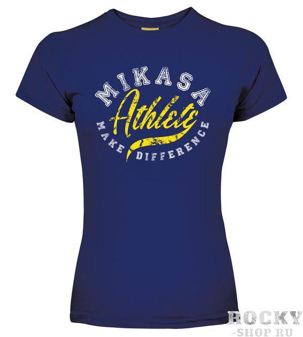 MIKASA MT257 0202 MICHI Футболка W MikasaФутболки / Майки / Поло<br>Футболка MIKASA MT257 0202 MICHI•Женская футболка MIKASA MICHI изготовлена полностью из натурального хлопка.•Имеет классический покрой, на лицевой стороне надпись с названием бренда.•Подойдет как для занятий спортом, так и для повседневного использования.<br>