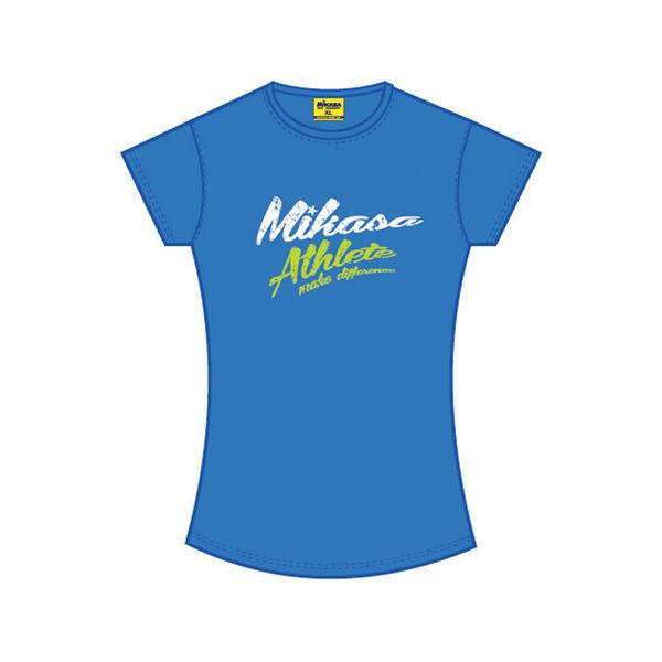 MIKASA MT257 0203 MICHI Футболка W MikasaФутболки / Майки / Поло<br>Футболка MIKASA MT257 0203 MICHI•Женская футболка MIKASA MICHI изготовлена полностью из натурального хлопка.•Имеет классический покрой, на лицевой стороне надпись с названием бренда.•Подойдет как для занятий спортом, так и для повседневного использования.<br>