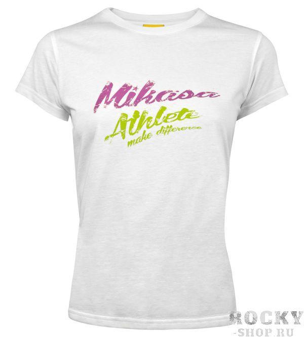 MIKASA MT257 0022 MICHI Футболка W MikasaФутболки / Майки / Поло<br>Футболка MIKASA MT257 0022 MICHI•Женская футболка MIKASA MICHI изготовлена полностью из натурального хлопка.•Имеет классический покрой, на лицевой стороне надпись с названием бренда.•Подойдет как для занятий спортом, так и для повседневного использования.<br>