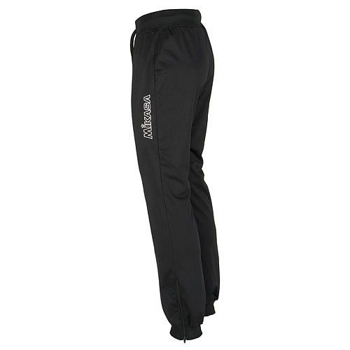 Mikasa mt751 0049 nara w брюки MikasaСпортивные штаны и шорты<br>Брюки MIKASA MT751 0049 NARA W •Практичные женские спортивные брюки выполнены на 100% из полиэстера. •Легкий дышащий материал эффективно отводит влагу с поверхности кожи. •Широкий пояс и низ штанин из трикотажной резинки с внешней шнуровкой для комфортной фиксации брюк. •Боковые молнии на штанинах для удобного одевания и дополнительной вентиляции.<br><br>Размер INT: L