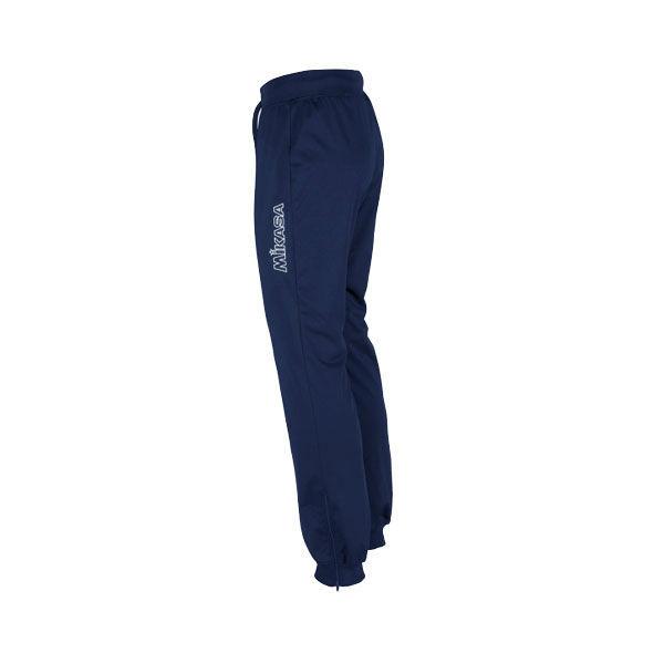 MIKASA MT751 0036 NARA W Брюки  MikasaСпортивные штаны и шорты<br>Брюки MIKASA MT751 0036 NARA W •Практичные женские спортивные брюки выполнены на 100% из полиэстера.•Легкий дышащий материал эффективно отводит влагу с поверхности кожи.•Широкий пояс и низ штанин из трикотажной резинки с внешней шнуровкой для комфортной фиксации брюк.•Боковые молнии на штанинах для удобного одевания и дополнительной вентиляции.<br>
