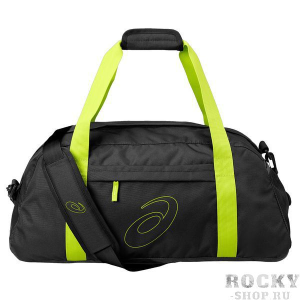 ASICS 127692 0416 TRAINING ESSENTIALS GYMBAG Сумка для тренировок AsicsСпортивные сумки и рюкзаки<br>Вместительная сумка с удобными ручками и плечевым ремнем. Спереди карман на молнии, сетчатый карман сбоку. Основное отделение на молнии. Внутренний сетчатый карман. Отделение для влажных/сухих вещей. Регулируемый плечевой ремень и мягкие ручки. Ручки можно скрепить накладкой на липучке. Принт Asics. Состав: 100% полиэстер.<br>