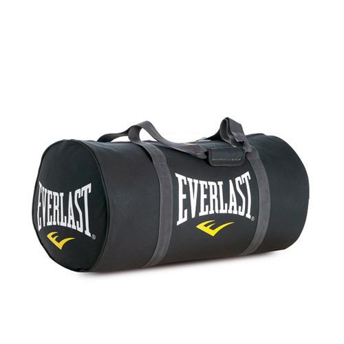 """Сумка Everlast Rolled Holdall EverlastСпортивные сумки и рюкзаки<br>Множество вариантов переноски сумки: две ручки, боковые ручки, ремень. Один большой отсек с двумя карманами по краям, один со сквозным отверстием для воздушного потока, и один карман с боку. Технология EverFresh™- антибактериальная защита от запаха и размножения микробов. Технология EverCool™-дышащая ткань и система вентиляции. Материал высокопрочный полиэстер. Размер: 24 x 10"""" x 11""""<br>"""