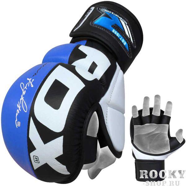 Гибридные перчатки RDX RDXПерчатки MMA<br>Гибридные перчатки (накладки) RDX. Перчатки из высококачественной натуральной кожи с гелевым наполнением для поглощения самых тяжелых ударов во время самых изнурительных тренировок. Гибридные перчатки от RDX оснащены застежкой, что обеспечивает наилучшую фиксацию и посадку на вашей кисти. Так же необходимо отметить, что данные гибридные перчатки оснащены защитой большого пальца. Конструкция ладони сделана так, что бы обеспечить максимальный комфорт при захвате. ММА перчатки RDX оснащены влагоотталкивающей подкладкой с антибактериальным эффектом. Каждый товар в этой элитной коллекции предлагает бойцам непревзойденную функциональность, долговечность и отличительную классическую элегантность. Идеально подходит для всех видов тренировок.<br><br>Размер: XL