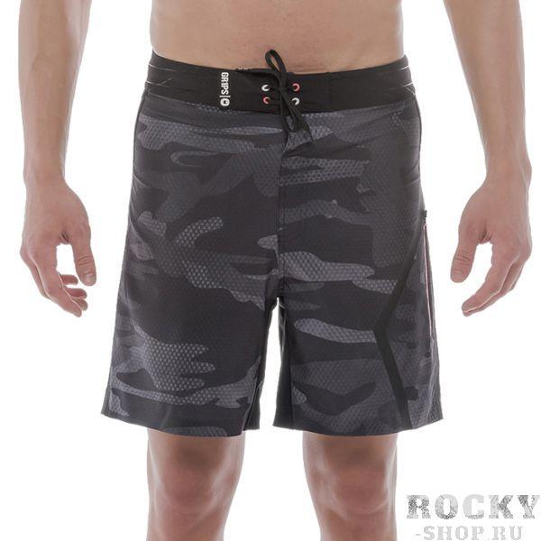 Шорты Grips Tatami Grips AthleticsСпортивные штаны и шорты<br>Шорты Grips Tatami. Очень лёгкие, но прочные шорты. Выполнены из тянущейся ткани. Присутствует боковой карман. Отлично подходят для бега, работы в тренажёрном зале и просто для прогулок. Уход: машинная стирка в холодной воде, деликатный отжим, не отбеливать.<br><br>Размер INT: S