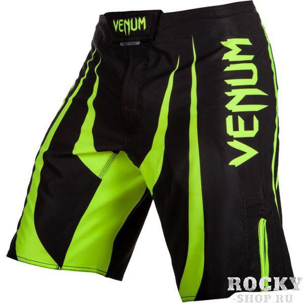 ММА шорты Venum Predator X VenumШорты ММА<br>ММА шорты Venum Predator X. При разработке шорт был учтен весь богатый научный опыт VENUM по созданию бойцовской экипировки ( одежды ММА ). Минималистский, но при этом жёсткий дизайн. Идеально подходят и для тренировочного процесса, и для соревнований даже самого высокого уровня. Материал, использованный для создания бойцовских шорт Venum - это 100% высококачественная легка микрофибра ( полиэстер ). Шорты мма venum очень легкие, но при этом прочные. Благодаря тянущимися материалу, эластичной вставке и боковым разрезам мма шорты Venum не создают никакого дискомфорта бойцу ни в стойке, ни в партере. Крепятся шорты на поясе с помощью липучки и встроенного в пояс шнурка. Рисунок полностью сублимирован в ткань. он не потрескается и не сотрется! Уход: машинная стирка в холодной воде, деликатный отжим, не отбеливать. Состав: 100% полиэстер.<br><br>Размер INT: L