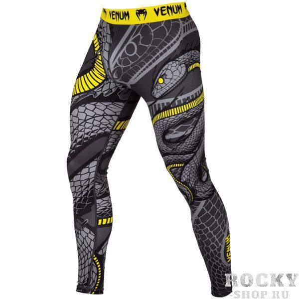 Компрессионные штаны Venum Snaker VenumКомпрессионные штаны / шорты<br>Компрессионные штаны Venum Snaker. С этими компрессионками от Venum вы будете думать только о тренировочном процессе, не отвлекаясь на неприятные ощущения в мышцах ног. Предназначены для улучшения кровообращения в мышцах, что, в свою очередь, способствует уменьшению времени на восстановление полной работоспособности мышцы. Прекрасно сидят на любом теле, хорошо тянутся, абсолютно НЕ сковывают движения. Очень приятная на ощупь ткань. Штаны Venum достаточно быстро сохнут. Плоские швы не натирают кожу. Предназначены для занятий самыми различными единоборствами, кроссфитом, фитнесом, железным спортом и т. д. . Уход: Машинная стирка в холодной воде, деликатный отжим, не отбеливать.<br><br>Размер INT: XXL