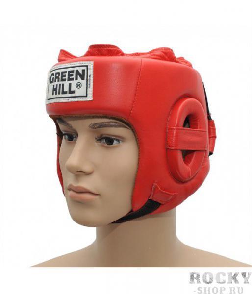 Боксерский шлем five star , Красный Green Hill
