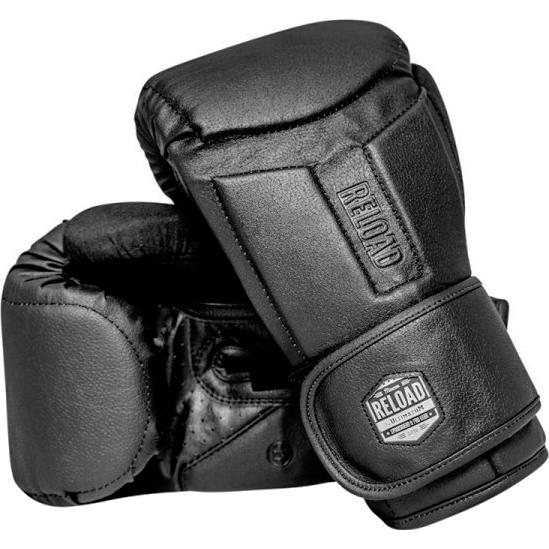 Боксерские перчатки Ultimatum Reload Black, 12oz UltimatumBoxing