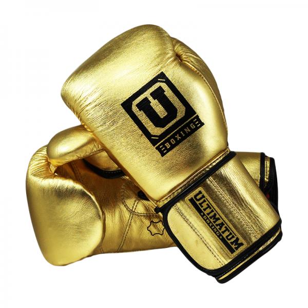 Купить Тренировочные перчатки Ultimatum Gen3Pro Gold UltimatumBoxing 12 oz (арт. 12768)