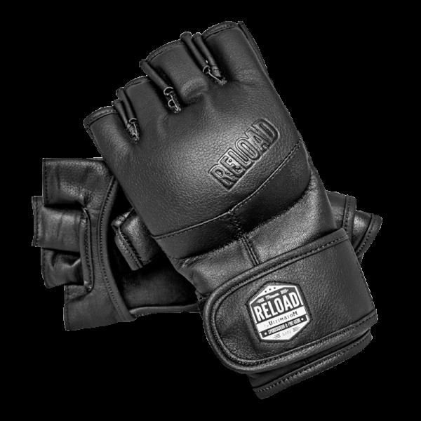 Перчатки Ultimatum Reload Black с защитой большого пальца UltimatumBoxingПерчатки MMA<br>Перчатки Ultimatum Reload Black с защитой большого пальца Хит, который порадует всех любителей смешанных единоборств. Очень качественные перчатки, отличная кистевая фиксация. Выполнены из натуральной кожи, оснащены защитой большого пальца во избежание травм. Материал:100% натуральная кожа<br>