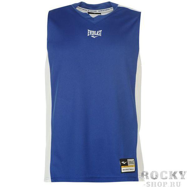 Майка Everlast Jersey Blue White EverlastФутболки / Майки / Поло<br>Майка Everlast Jersey NavyОчень часто спортсмены предпочитают для тренировок именно такие модели. Дышащая перфорированная ткань, отсутствие рукавов  - все эти преимущества обеспечивают удобство и комфорт. Легко стирать, быстро сохнет после стирки, долго сохраняет свой внешний вид. Благодаря этому, вы сможете тренироваться в такой майке ежедневно.Состав:100% - полиэстер.<br>