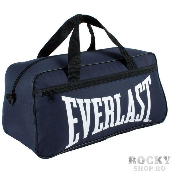 Спортивная сумка Everlast Holdall Navy EverlastСпортивные сумки и рюкзаки<br>Спортивная сумка Everlast TrainingНебольшая, но объемная спортивная сумка Everlast идеально подойдет не только для путешествий, но и для похода в спортивный зал. В такую сумку вы сможете поместить полную экипировку для единоборств. Сумка оснащена крепкими ручками на липучке, ремнем, боковой ручкой для вертикального перемещения. Вместительные боковые карманы идеально подойдут для расходников и спортивного инвентаря.<br>