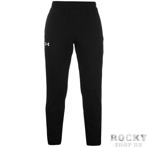 Спортивные штаны Under Armour Storm Cuffed Black Under ArmourСпортивные штаны и шорты<br>Under Armour представляет вашему вниманию классические спортивные штаны, выполненные из хлопка с добавление полиэстера. Не заужены к низу. Аккуратный логотип на правой штанине.  Идеально подойдут  для занятий спортом на улице,  а также повседневной носки. Состав:80% хлопок, 20% полиэстер.<br>