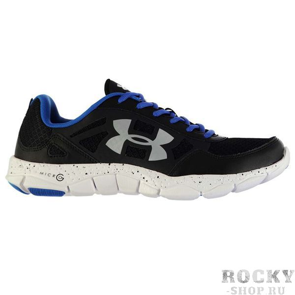 Кроссовки Under Armour Micro Engage 2 Black Silver Under Armour