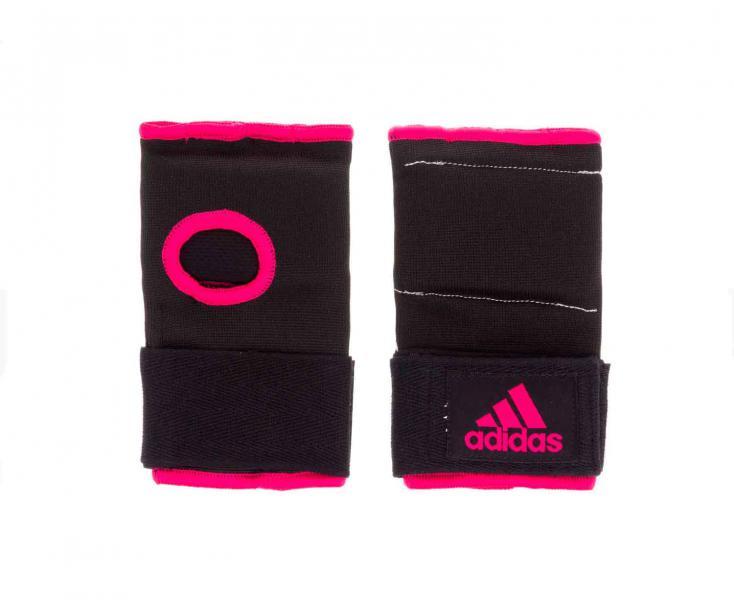 Внутренние перчатки Super Inner Gloves Gel Knuckle черно-розовые, черно-розовые Adidas
