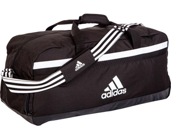Сумка спортивная Tiro 15 Teambag L черно-белая Adidas