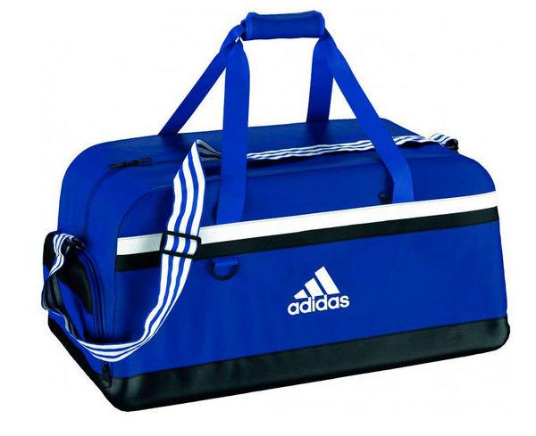 Купить Сумка спортивная Tiro 15 Teambag L сине-белая Adidas (арт. 12959)