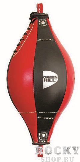 Пневмогруша на растяжках Green Hill DELTA Green HillСнаряды для бокса<br>Пневмогруша на растяжках Green Hill DELTA - отличный снаряд для развития скорости, точности и серийности ударов руками. Подходит для спортсменов любого уровня подготовки. Можно использовать как для залов, так и для дома. Сделана из натуральной кожи. Растяжки в комплект не входят.<br>