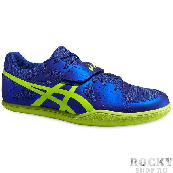 Обувь спортивная мужская ASICS G507Y 4307 HYPER THROW 3 AsicsКроссовки<br>Спортивная обувь ASICS G507Y 4307 HYPER THROW 3ASICS HYPER THROW 3 – профессиональная легкоатлетическая обувь для толкания ядра, метания диска и молота. Полноразмерная пластина из пебакса облегчает вес модели, повышает износостойкость и сцепление с любой поверхностью. Синтетическая кожа и верх из сетки создают необычную легкость, комфорт, воздухопроницаемость и великолепную посадку. Липучка поверх шнуровки обеспечивает лучшую фиксацию стопы.Технологии, использованные в модели ASICS HYPER THROW 3:•AHAR. Резина повышенного уровня износостойкости. Это наиболее тонкая облегченная модификация АХАР. Обеспечивает продление срока службы обуви. АХАР+ расположена в участках подошвы, подверженных повышенному износу.•Solid Rubber outsole. Плотная резиновая внешняя подошва обеспечивает повышенную прочность подошвы и сцепление с дорогой.<br>