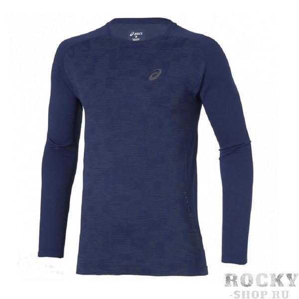ASICS 124753 8052 LS SEAMLESS TOP Беговая рубашка AsicsФутболки / Майки / Поло<br>• Стильная мужская рубашка от ASICS для бега с длинным рукавом.• Функциональный крой обеспечит полную свободу движений и ощущение легкости.• Высококачественная ткань быстро и эффективно отводит излишки влаги.• Рубашка не имеет швов, поэтому риск раздражения или натирания кожи сводится к минимуму.• Для безопасности передвижения в темное время суток предусмотрены светоотражающие вставки спереди и сзади.• Рубашка отлично стирается и не теряет свой первоначальный цвет.<br>