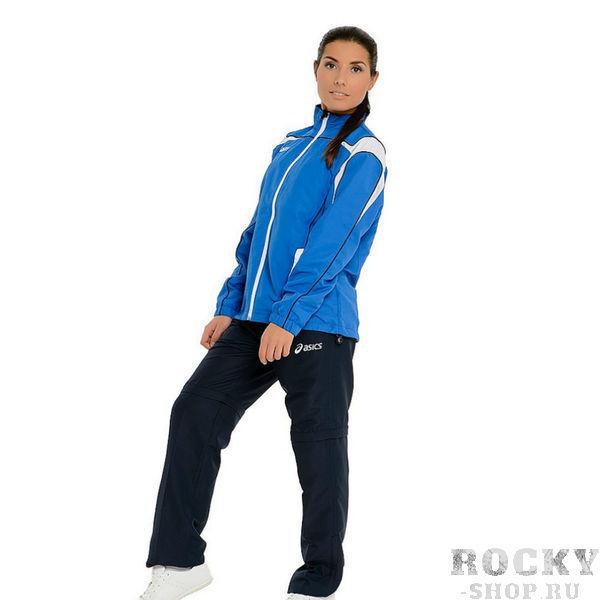 ASICS T230Z5 4350 SUIT GAIA Костюм спортивный AsicsСпортивные костюмы<br>Спортивный костюм ASICS T230Z5 4350 SUIT GAIA •Комфортный женский спортивный костюм выполнен из 100%-ной микрофибры. •Технологичный материал обладает повышенной износостойкостью и водоотталкивающими свойствами. •Брючины легко трансформируются в бермуды благодаря отстегивающимся брючинам. •Куртка имеет дышащую подкладку и эластичные утягивающиеся элементы. •Потайной карман для телефона или плеера с отверстием для наушников. •Брюки снабжены эластичным поясом-кулиской с завязками.<br><br>Размер INT: XS