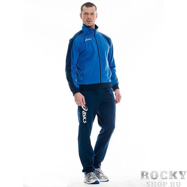 ASICS T771Z5 4350 SUIT DIFF Костюм спортивный AsicsСпортивные костюмы<br>Спортивный костюм ASICS T771Z5 4350 SUIT DIFF •Классический спортивный тренировочный костюм от ASICS, состоящий из куртки и брюк из 100%-ного полиэстера.•Воздухопроницаемый прочный материал обладает отличными влагоотводящими свойствами.Спортивная куртка:•Ребристая изнанка воротника.•Контрастные вставки по бокам и контрастный логотип на груди.•Два боковых кармана на молнии.•Рукава и низ куртки отделаны ребристыми манжетами.Спортивные брюки:•Талия на резинке с дополнительным шнурком-кордом.•Два боковых кармана.•Брюки прямого покроя.•Констрастный логотип на штанине.<br>