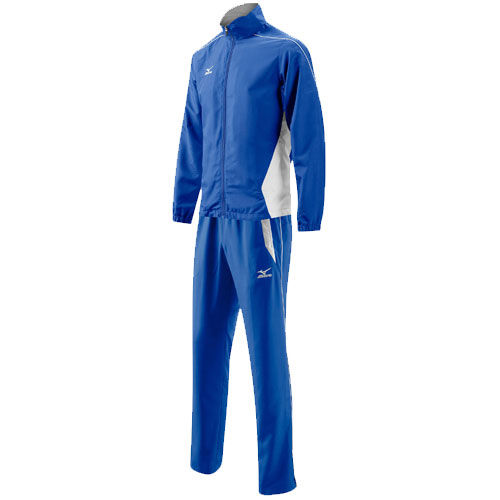 MIZUNO K2EG4A01 22  WOVEN TRACK SUIT 401 Костюм спортивный MizunoСпортивные костюмы<br>Спортивный костюм MIZUNO K2EG4A01 22 WOVEN TRACK SUIT 401 •Облегченный мужской спортивный костюм с «дышащей» подкладкой, сохраняющей тепло. •Куртка с высоким воротником и эластичными манжетами препятствует проникновению ветра. •Брюки свободного покроя с боковыми карманами и со шнуровкой на поясе для оптимальной посадки. •Молния внизу штанин для регулирования их ширины.<br><br>Размер INT: L
