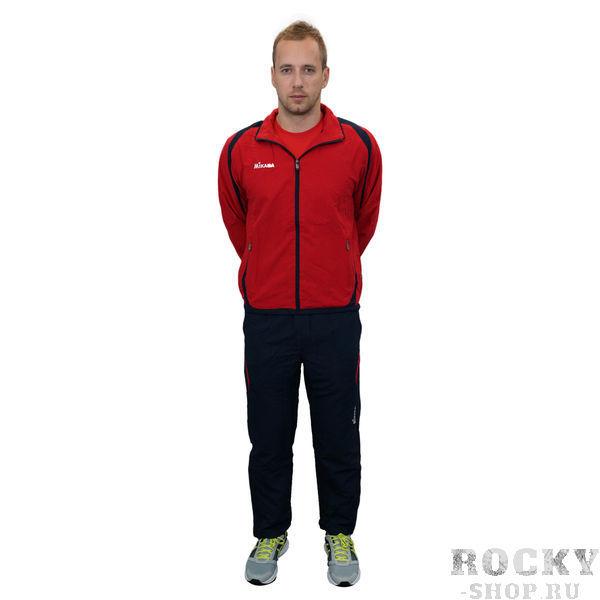 MIKASA MT143 0620 RAYON Костюм спортивный (ветровка, брюки, футболка) MikasaСпортивные костюмы<br>Спортивный костюм MIKASA MT143 0620 RAYON•Мужской спортивный костюм-тройка состоит из брюк, ветровки и футболки. •Костюм изготовлен из полиэстеровой микронити, которая обеспечивает отличную вентиляцию, что немаловажно при активных занятиях спортом, и при этом отлично защищает от ветра. •Ветровка имеет петлю для вешалки под воротником, молнию, сетчатую подкладку внутри, два кармана на уровне пояса, которые застегиваются на молнию. •Футболка имеет v-образный ворот и приталенный фасон. •Брюки имеют сетчатую подкладку, резинку на поясе, молнии снизу каждой штанины и завязки для дополнительного удобства.<br><br>Размер INT: XS