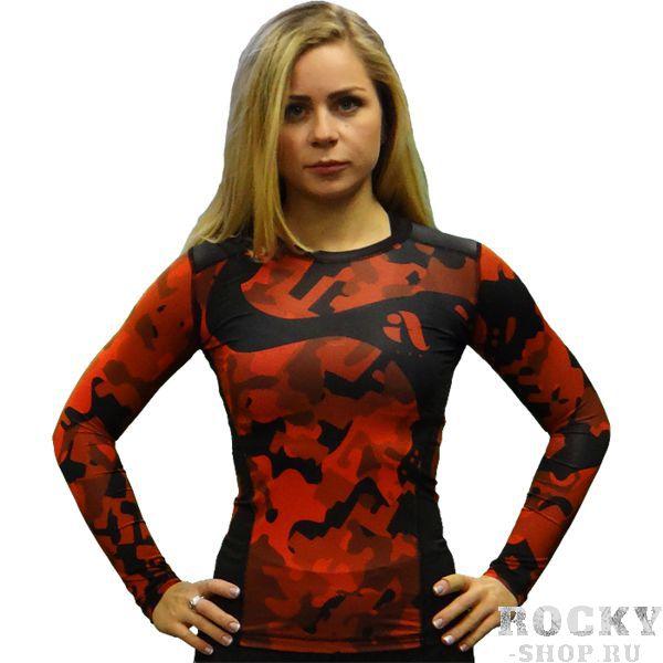 Купить Женский рашгард Aim Military Uniqueness Skin Red (арт. 13225)