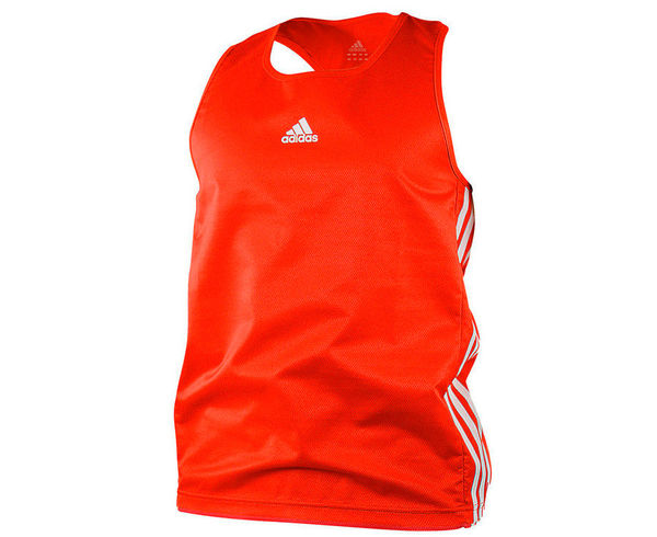 Майка боксерская Micro Diamond Boxing Top, красная Adidas