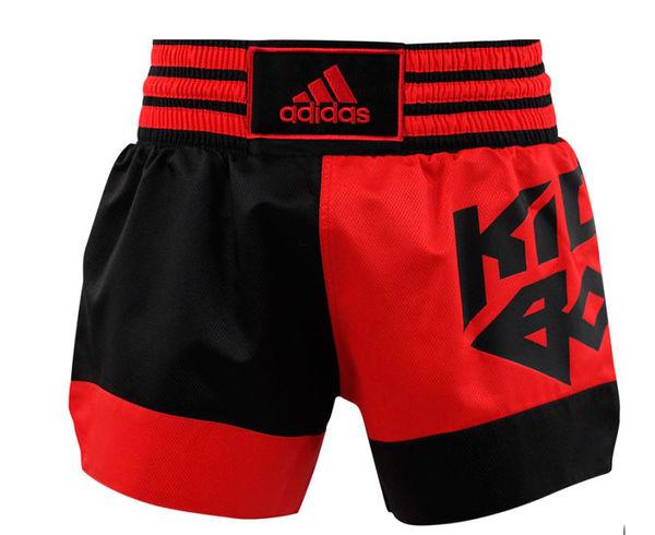 Купить Шорты для кикбоксинга Micro Diamond Kick Boxing Short Adidas красно-черные (арт. 13425)