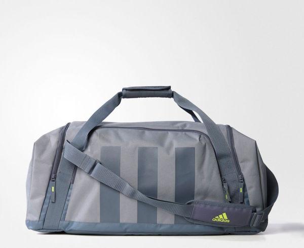 Купить Сумка спортивная Ace 16.2 Teambag M серая Adidas (арт. 13437)