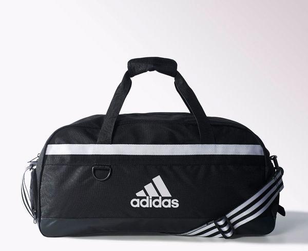 Купить Сумка спортивная Tiro 15 Teambag M черно-белая Adidas (арт. 13439)