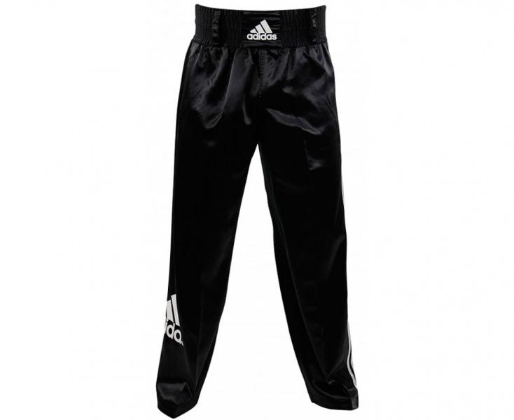 Брюки для кикбоксинга Kick Boxing Pants Full Contact, черные Adidas