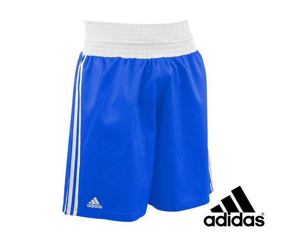 Купить Шорты боксерские Micro Diamond Boxing Short Adidas синие (арт. 13447)