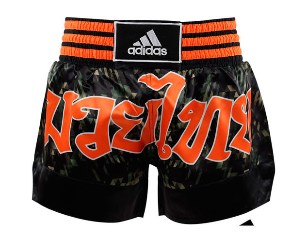 Купить Шорты для тайского бокса Thai Boxing Short Sublimated Adidas камуфляжные (арт. 13456)
