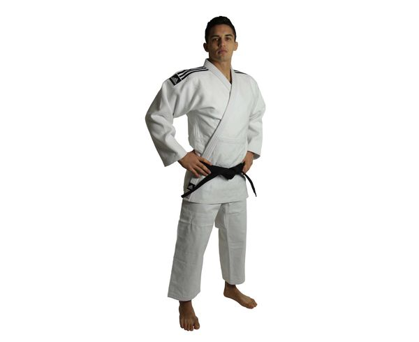 Кимоно для дзюдо Champion 2 IJF Slim Fit, белое Adidas