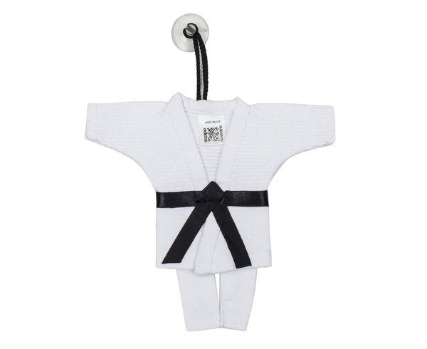 Сувенирное кимоно для дзюдо Mini Judo Uniform белое AdidasСувенирная продукция<br>Сувенир на присоске Mini Kimono Judo<br><br>Цвет: белое