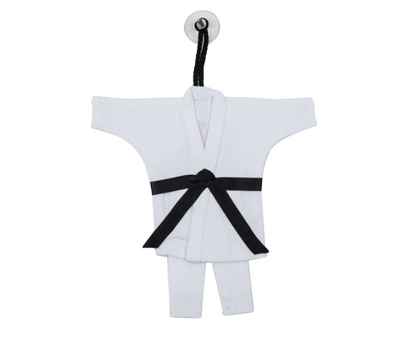 Сувенирное кимоно для карате Mini Karate Uniform белое AdidasСувенирная продукция<br>Сувенир на присоске Mini Kimono Karate<br><br>Цвет: белое