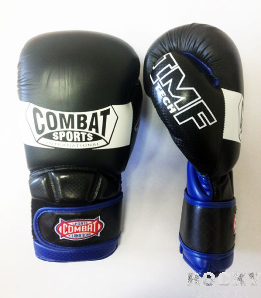 Купить Перчатки для тайского бокса тренировочные, липучка Combat 14 oz (арт. 13485)
