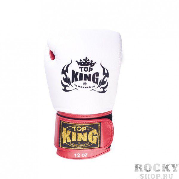 Перчатки для тайского бокса Top King Ultimate, 12 OZ Top KingЭкипировка для тайского бокса<br>Перчатки для бокса Ultimate способны с большим успехом обеспечить высокий уровень безопасности, а также максимизировать комфорт вашим рукам, не прибегая к дополнительным мерам. Качество каждого элемента экипировки соблюдено в соответствии с передовыми стандартами: для верхнего покрытия и внутреннего подклада взяты самые надежные материалы, соединенные на основании утвержденного дизайна, стремящегося к приданию уверенности владельцу на ринге. Профессиональный характер боксерских перчаток удачно гармонирует с используемым цветовым решением.<br><br>Цвет: красный (черная липучка)